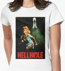 HELLHOLE Women's Fitted T-Shirt