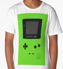 green game boy Long T-Shirt