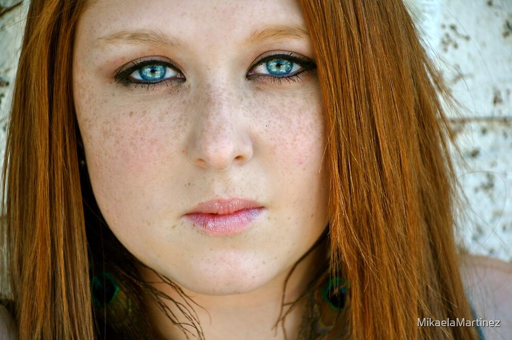 Piercing Eyes by MikaelaMartinez