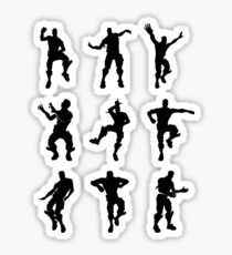 Fortnite Dances - small Sticker