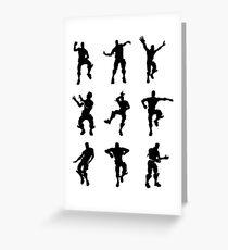 Fortnite Dances - small Greeting Card