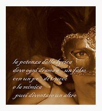 puoi diventare un altro © 2009 patricia vannucci  Photographic Print