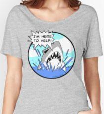 Kyle the Friendliest Shark Ever Women's Relaxed Fit T-Shirt