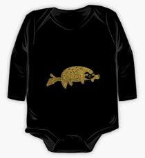 Cute Golden Sloth One Piece - Long Sleeve