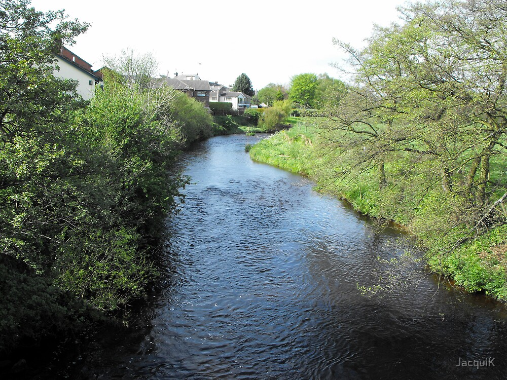 The River Wyre at Garstang. by JacquiK