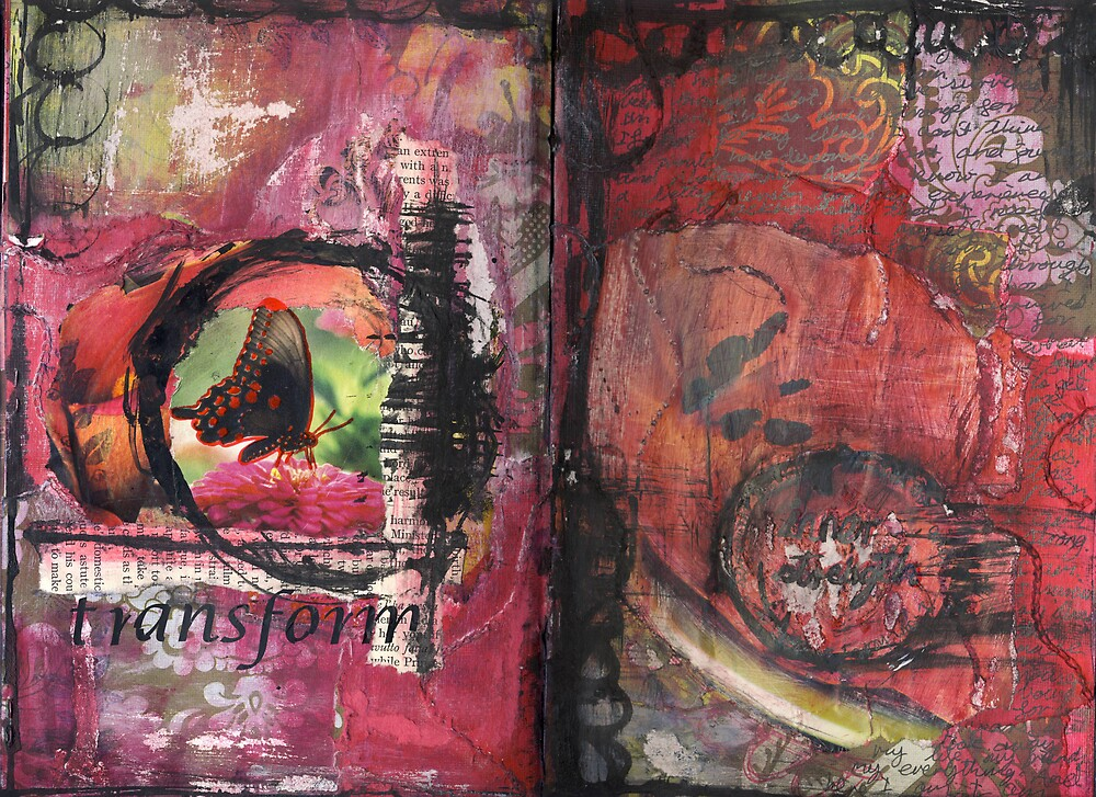 Art Journal - transform by Clare Reid