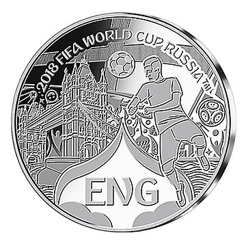 England 2018 FIFA World Cup Coin Gift Collection  by NorthernSoulz