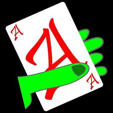 Poker Hand Skat Casino Ace Gift by Er1k99