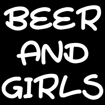 Beer and Women Party Barbecue Gift Idea by Er1k99