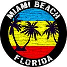Miami Beach Florida Surfing Beach Sun Surf by MyHandmadeSigns