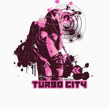 Turbo Blanco Summer 2009 Tee Purple by TurboCity