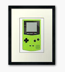 Game Boy Color Framed Print