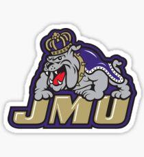 James Madison Logo Sticker