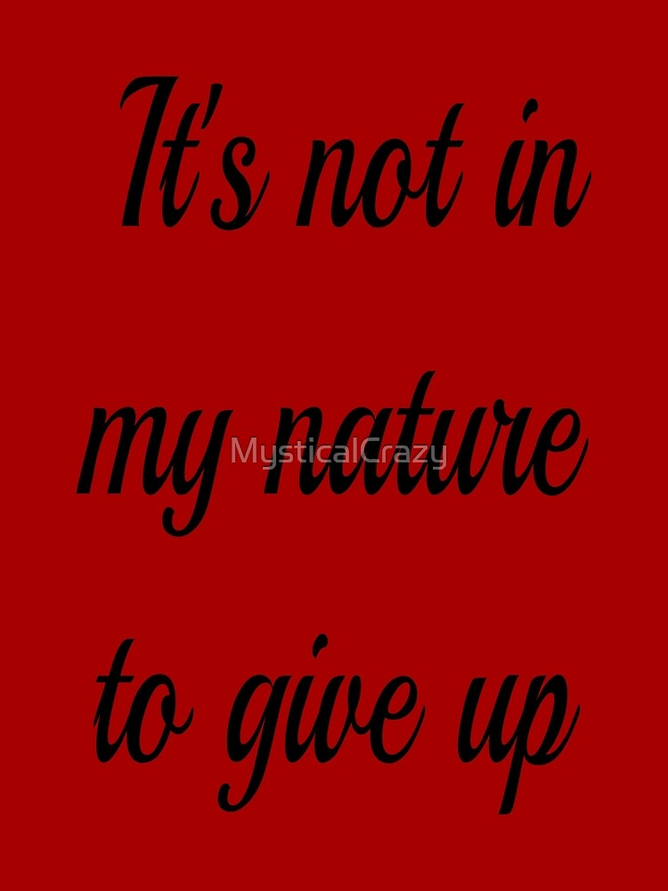 Markiplier Quote - Never Give Up by MysticalCrazy