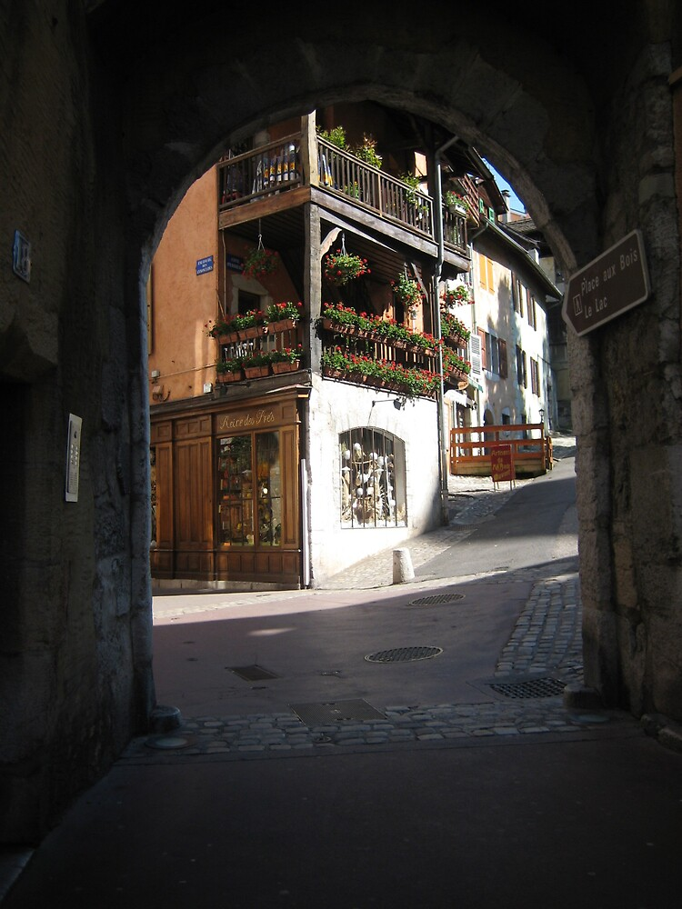 Annecy Arches by Caz F