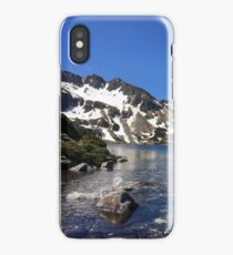 Valley of Five Lakes in Tatra Mountains | Photo iPhone Case