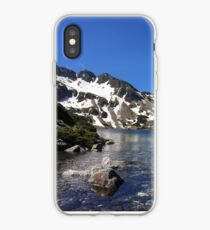 Valley of Five Lakes in Tatra Mountains   Photo iPhone Case