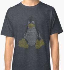 Linux - Penguin Bash Commands Classic T-Shirt