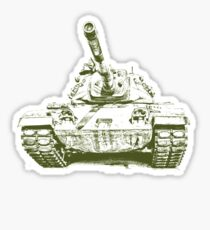 Army Tank Sticker