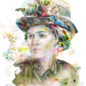 Countess Constance Markievicz Portrait by karlfrey