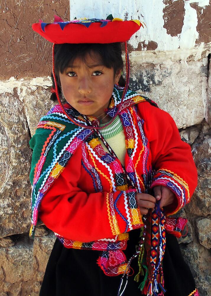 PEDDLER - PERU by Michael Sheridan