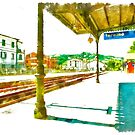 Railway station by Giuseppe Cocco