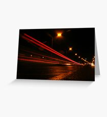 East Lancashire Road Greeting Card