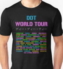 DDT world tour Unisex T-Shirt