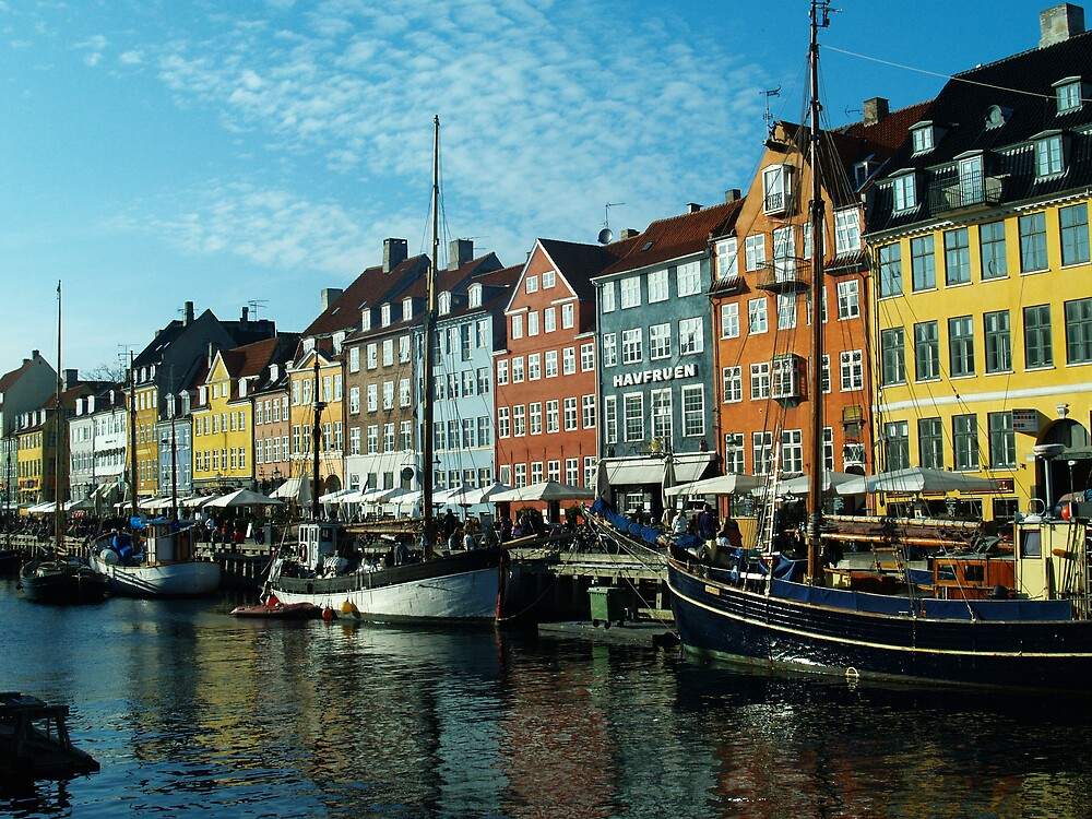 Nyhavn by Alex Scott