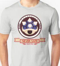 Never Safe - Mario Kart  T-Shirt