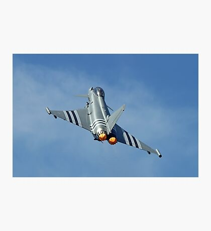 Afterburners On - Eurofighter Typhoon  - Farnborough 2014 Photographic Print