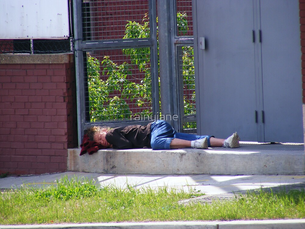 """Original of """"Snoozing in Knoxville"""" by rainyjane"""