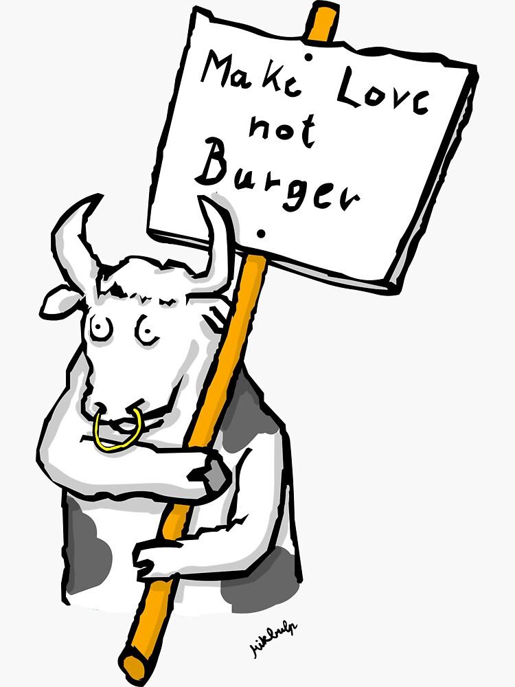 make love not burger by Mikbulp