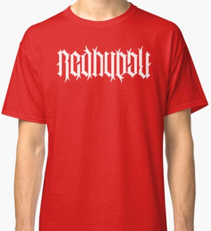 RedBuuble + Angels and Demons Classic T-Shirt