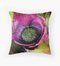 Hungry Succulent Throw Pillow