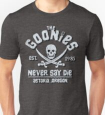 Goonies Never Say Die Movie 80s Film 1980s Unisex T-Shirt