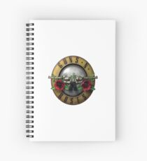 Gun's Roses / Guns and Roses Logo Spiral Notebook