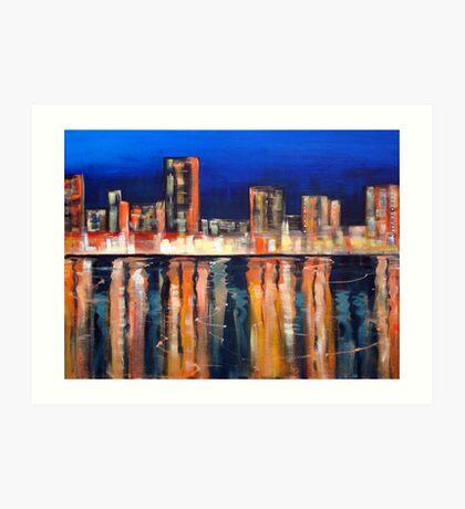 Bright Lights - Big City Art Print