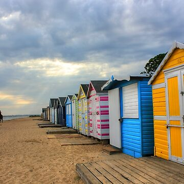 Colours on the Beach by ViczS