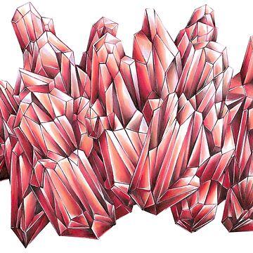 Crimson Red by VeeVee
