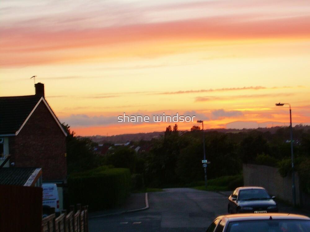 sunset over melksham 2 by shane windsor