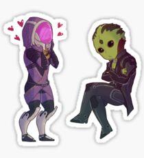 Tali & Thane - Mass Effect Sticker