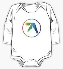 Aphex Twin Logo Rainbow One Piece - Long Sleeve