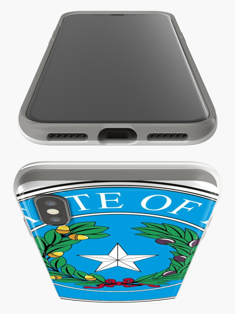 Alternate view of Seal of Texas iPhone Case & Cover