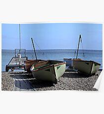 Twin Boats, Tweedledum and Tweedledee... Poster