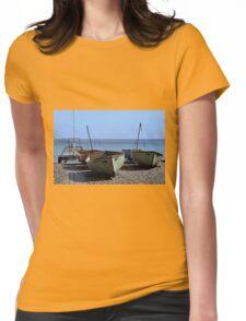 Twin Boats, Tweedledum and Tweedledee... Womens Fitted T-Shirt