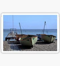 Twin Boats, Tweedledum and Tweedledee... Sticker