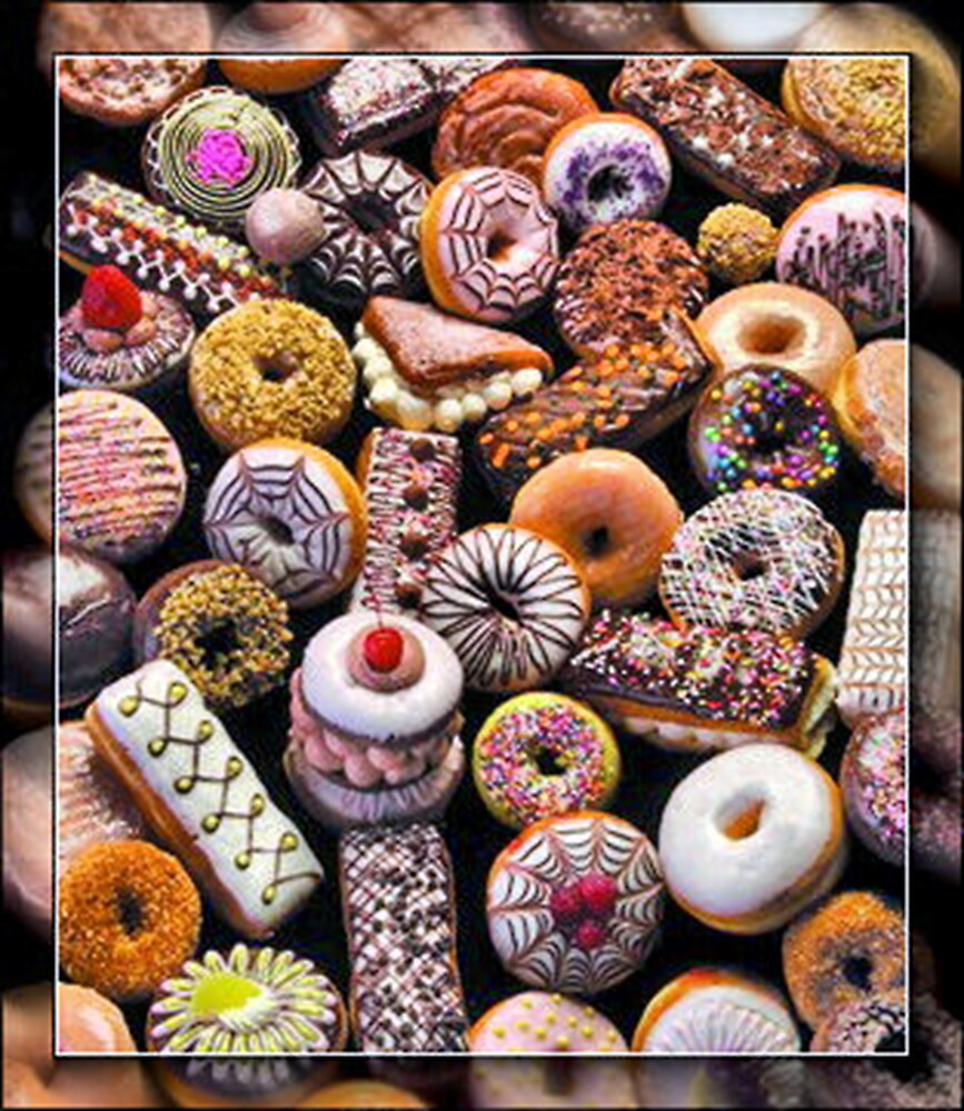 Holy Donuts, Batman!@#$%^& by Rick Wollschleger