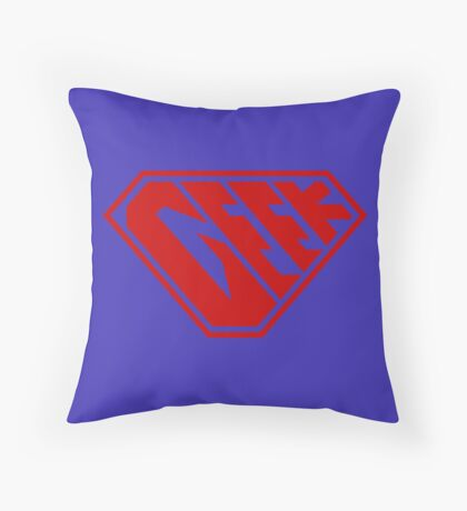 Geek SuperEmpowered (Red) Floor Pillow