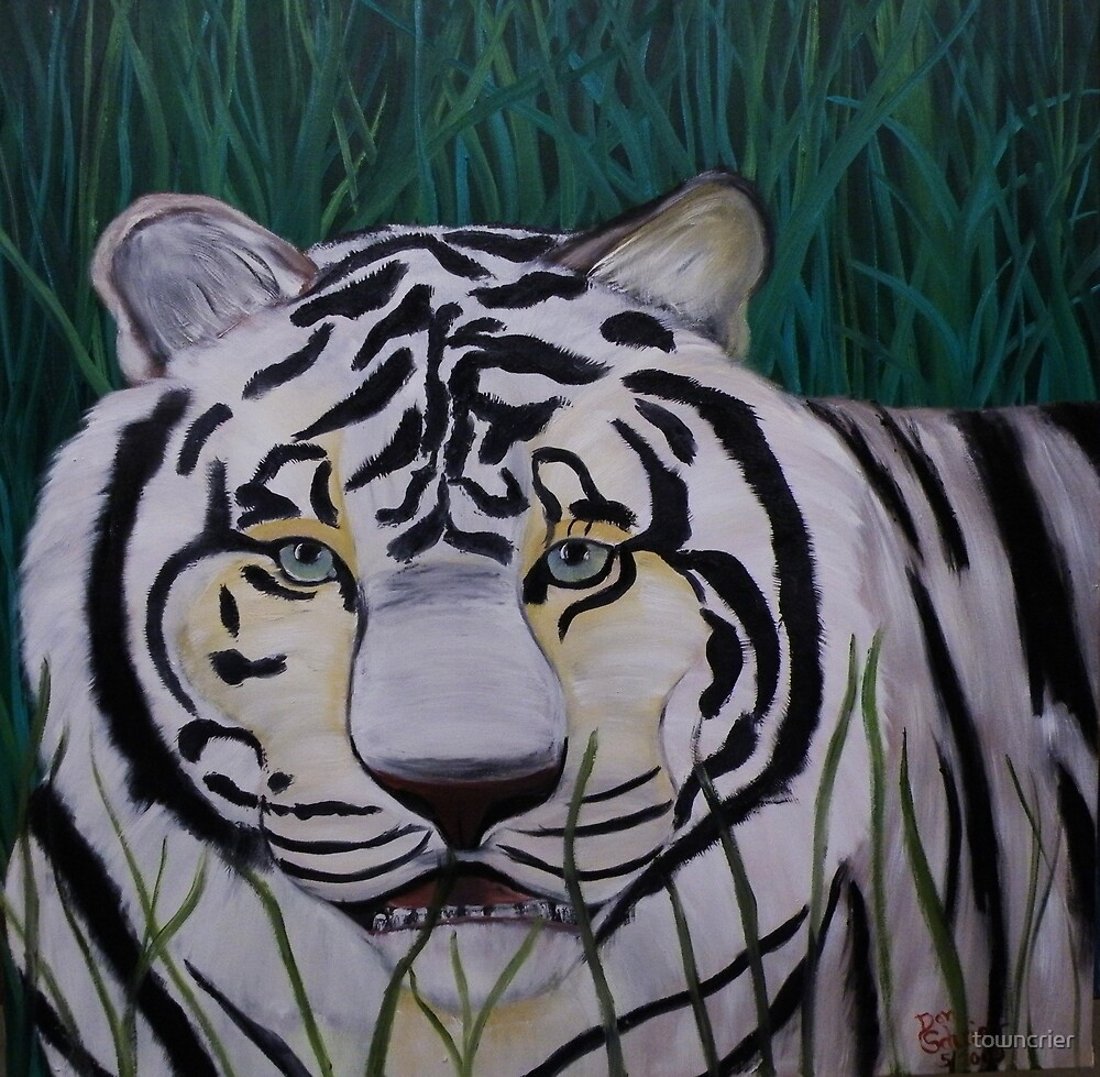 You Have a White Tiger in your Grass by towncrier